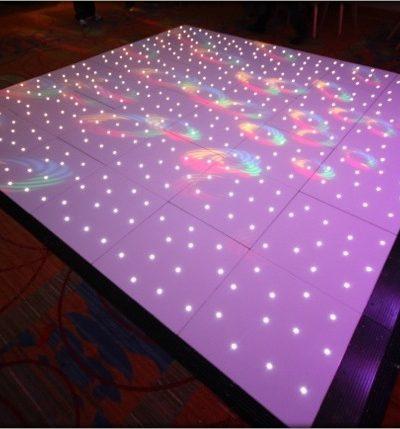 White LED Dancefloor