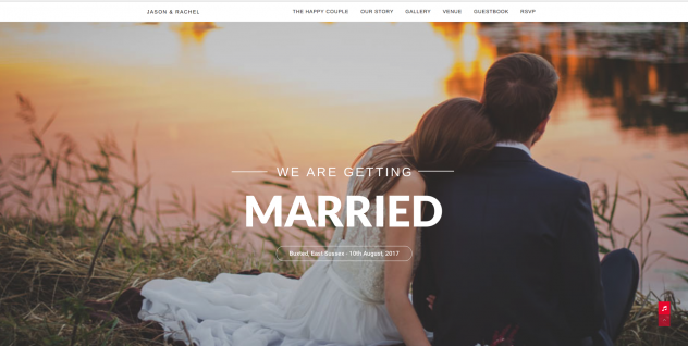 Your very own wedding website hotsteppaz wedding dj let everyone know about your special day with your very own personalised website junglespirit Images